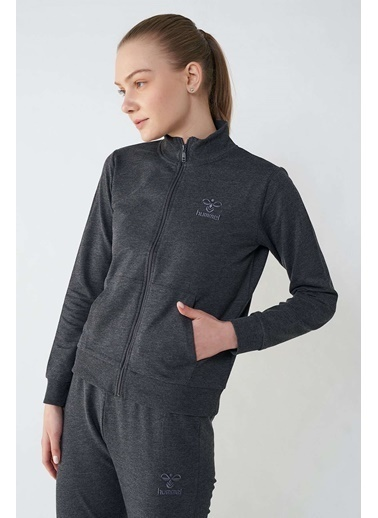 Hummel Kadın Zip Ceket Casalinas 920074-2001 Siyah
